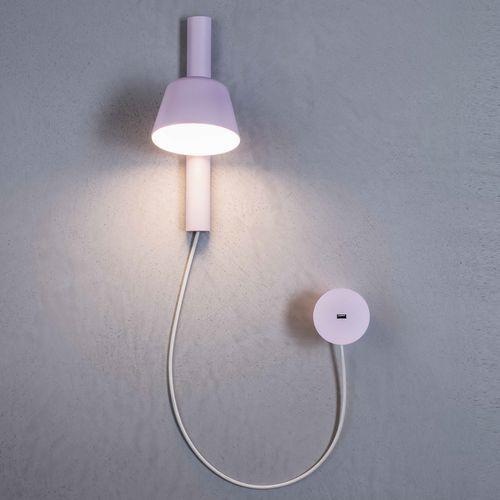 applique murale contemporaine / en métal / en polypropylène / à LED