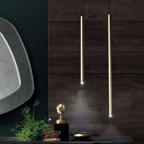 suspension / contemporaine / en métal peint / en tissu