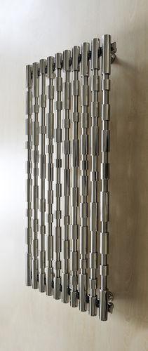 radiateur à eau chaude / en inox / contemporain / mural
