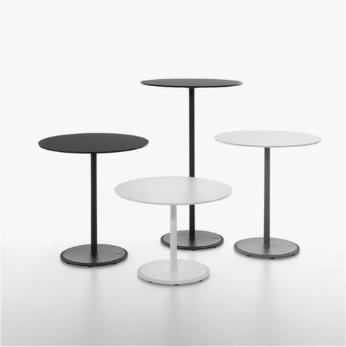 table bistrot contemporaine / en fonte / en HPL / en MDF