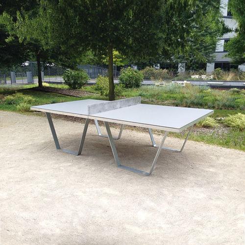 table de ping-pong contemporaine / pour espace public / pour espace public