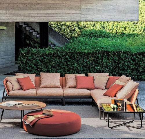 canapé modulable / contemporain / d'accueil / de jardin
