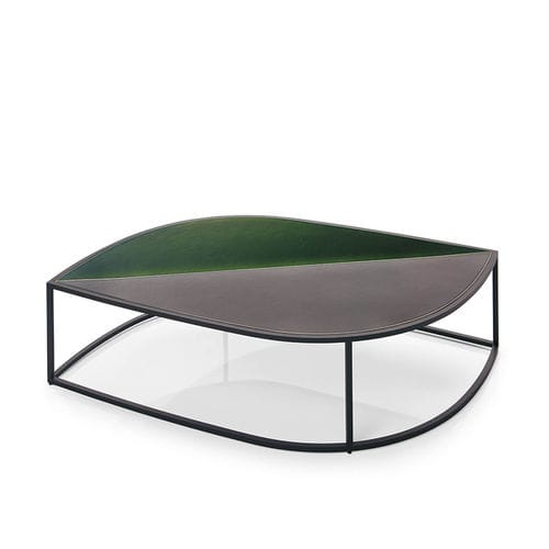 table basse contemporaine / en acier inoxydable / de jardin / par Gordon Guillaumier