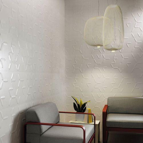 carrelage d'intérieur / mural / en grès cérame / 40x80 cm