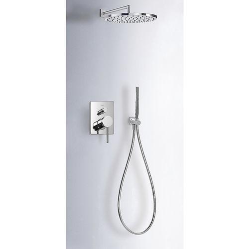 set de douche encastrable au mur - TRES Grifería