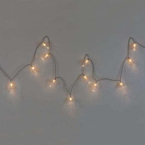 guirlande lumineuse en verre soufflé / à LED / d'intérieur