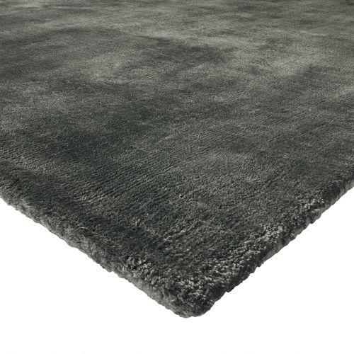 tapis contemporain / uni / en tencel® / rectangulaire