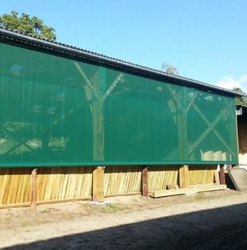 grille de ventilation en tissu / rectangulaire / pour façade / pour le soufflage et la reprise d'air