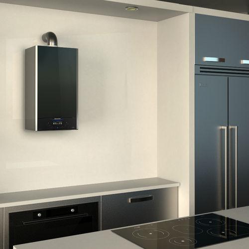 chaudière à gaz / murale / résidentielle / à condensation
