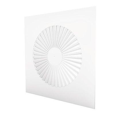 diffuseur d'air de plafond / carré