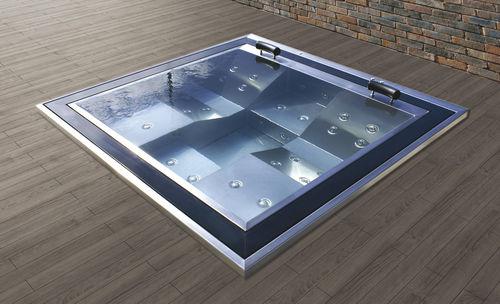 spa encastrable / carré / 4 places