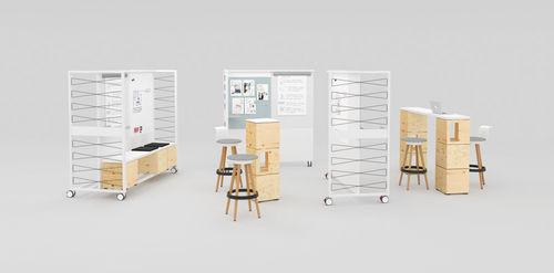 Boîte de rangement en bois PIXEL Bene GmbH avec couvercle