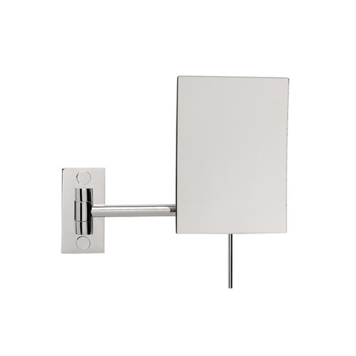 miroir de salle de bain mural / grossissant / contemporain / rectangulaire