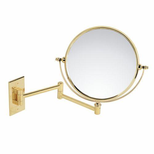 miroir de salle de bain mural / grossissant / basculant / double face