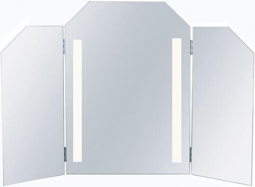 miroir de salle de bain mural / lumineux / contemporain