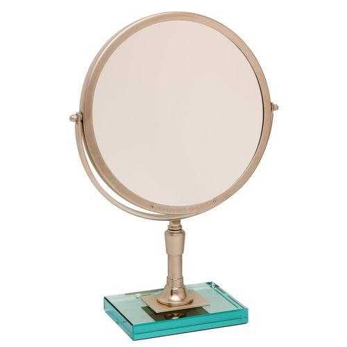 miroir de salle de bain à poser / psyché / grossissant / contemporain