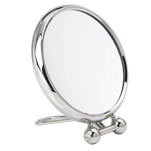 miroir à poser / grossissant / double face / classique