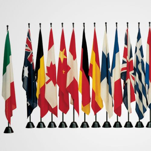 mât pour drapeau