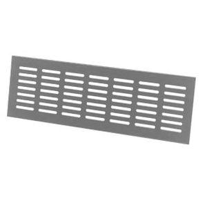 grille de ventilation en aluminium / linéaire / pour façade / de porte