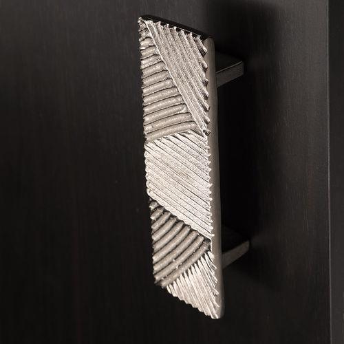 poignée de tirage de porte / en bronze / contemporaine