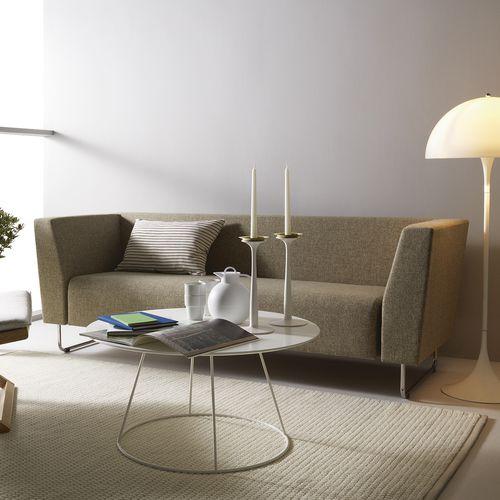 canapé contemporain / en tissu / 2 places / d'angle