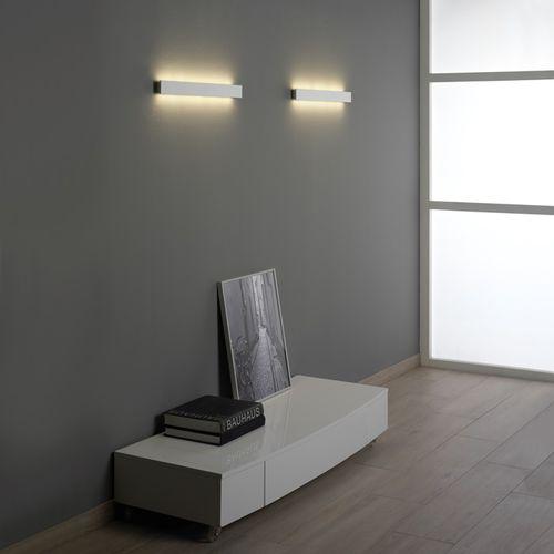 applique murale design minimaliste / de salon / en aluminium / en bois