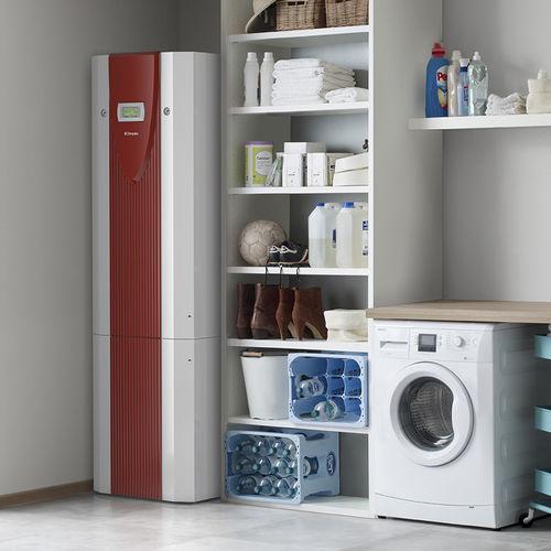 pompe à chaleur eau glycolée/eau / résidentielle / haute température / réversible