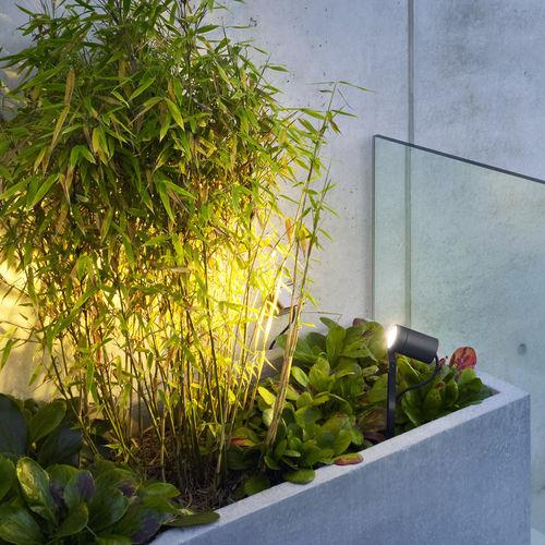 spot de sol / d'extérieur / à LED / rond