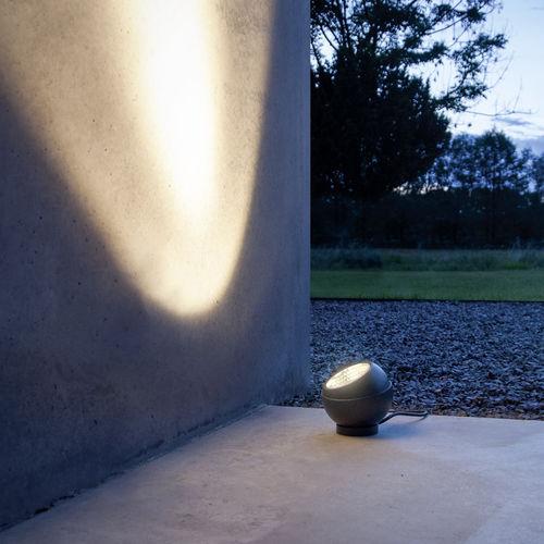 spot de sol / de jardin / à LED / rond
