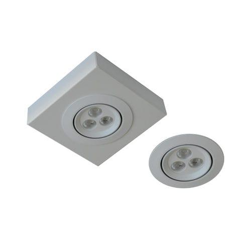 éclairage de secours en saillie / encastré / rond / carré