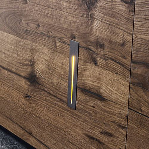 luminaire encastrable au mur / à LED / linéaire / en aluminium