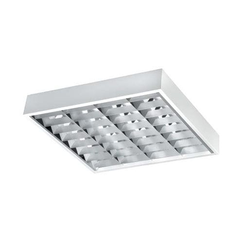 luminaire apparent / encastrable au plafond / à LED / fluorescent