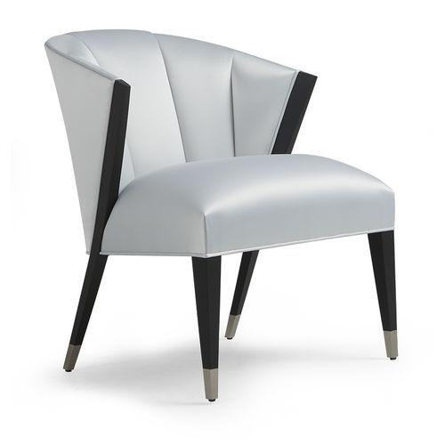 chaise de salle à manger classique / tapissée / avec accoudoirs / piètement standard