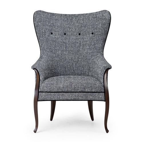 fauteuil classique / en velours / en satin / en soie