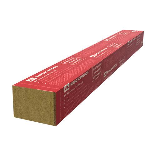 isolant thermique / en laine de roche / pour façade / pour aération