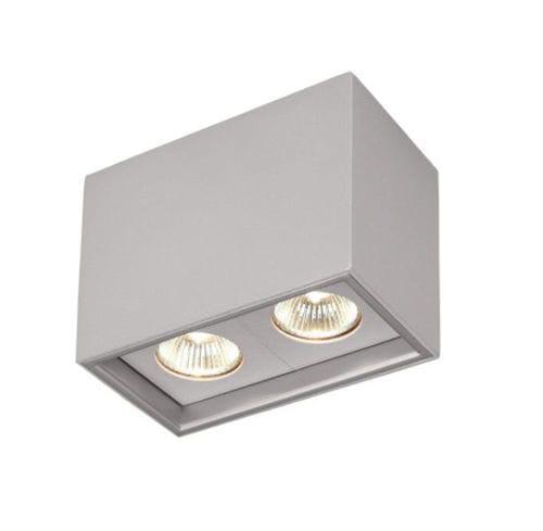 downlight en saillie / halogène / rectangulaire / en aluminium