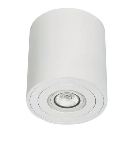 downlight en saillie / halogène / rond / en aluminium