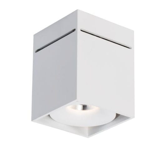 downlight en saillie / à LED / carré / en aluminium