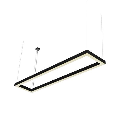 profil éclairant suspendu / à LED
