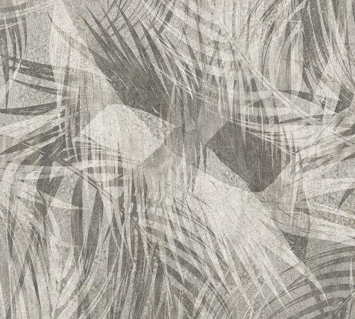 papier peint contemporain / à motif floral / non tissé / lavable