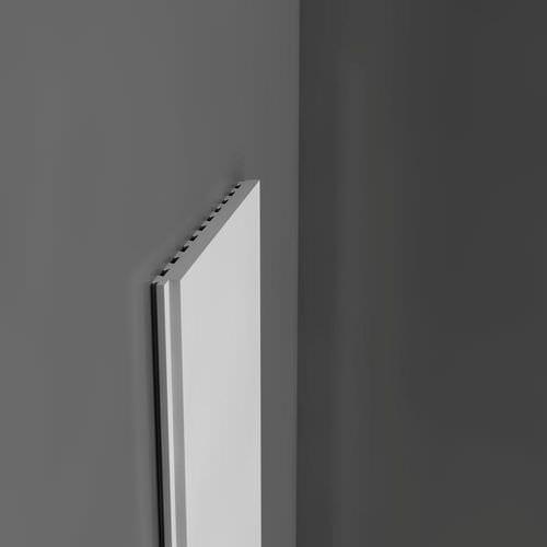 panneau décoratif en polystyrène / mural / lisse / mouluré