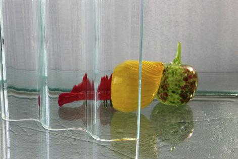 panneau décoratif en verre / en résine / acrylique / pour agencement intérieur