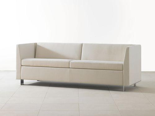 canapé contemporain / en tissu / professionnel / pour établissement public