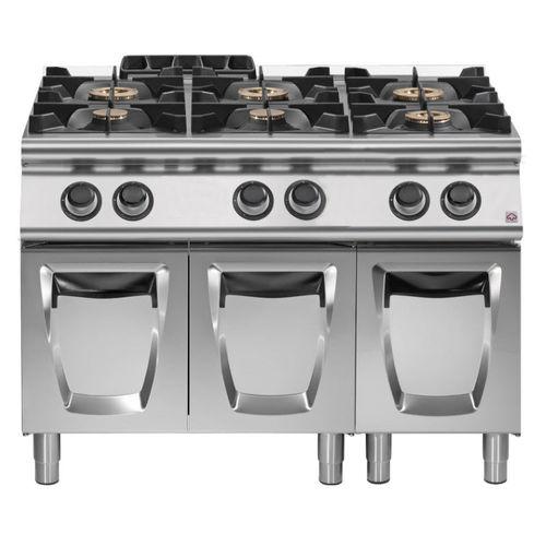 piano de cuisson à gaz / professionnel