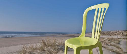 chaise de jardin contemporaine - GROSFILLEX fenêtres