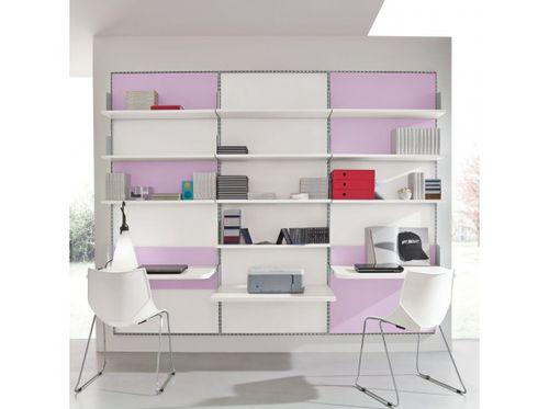 bureau en aluminium / contemporain / avec étagère / pour enfant