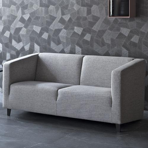 canapé contemporain / en tissu / en cuir / en métal