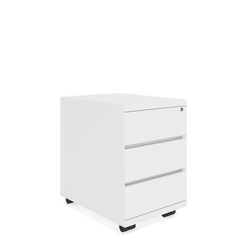 caisson de bureau en bois / à 3 tiroirs / à 2 tiroirs / à roulettes