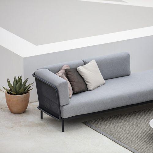 coussin pour canapé / extérieur / carré / rectangulaire