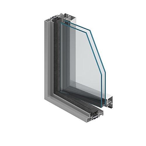 profilé en aluminium / pour mur-rideau